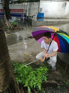 测量绿化取水面积